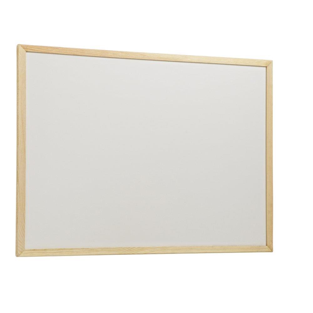 Πίνακας λευκός 60x90 cm ξύλινο πλαίσιο