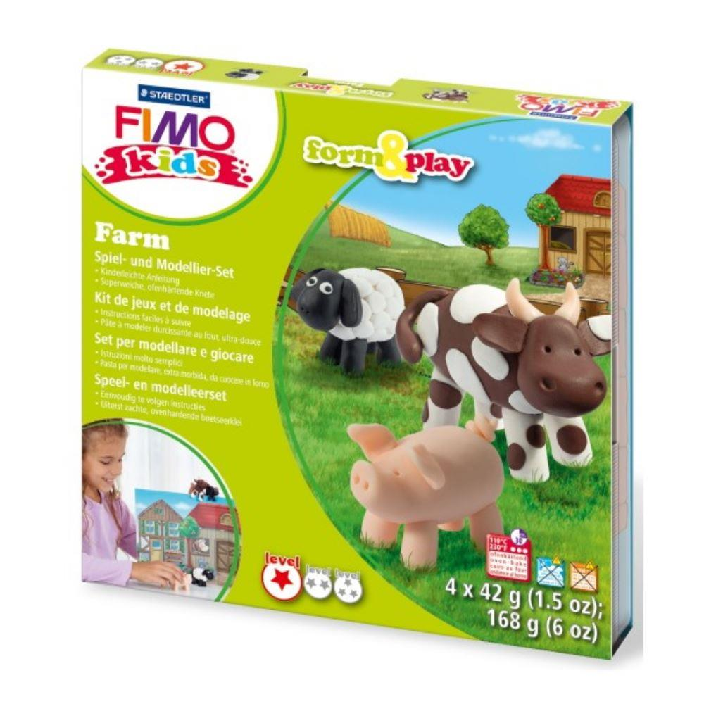 Σετ Fimo kids farm 8034 01