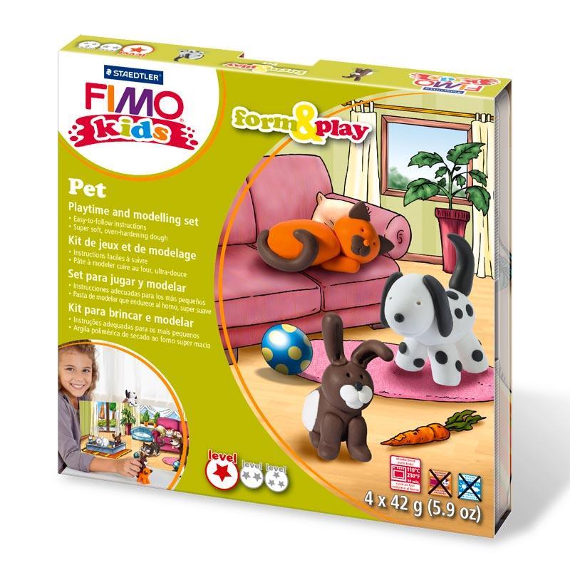 Σετ Fimo kids pet 8034 02