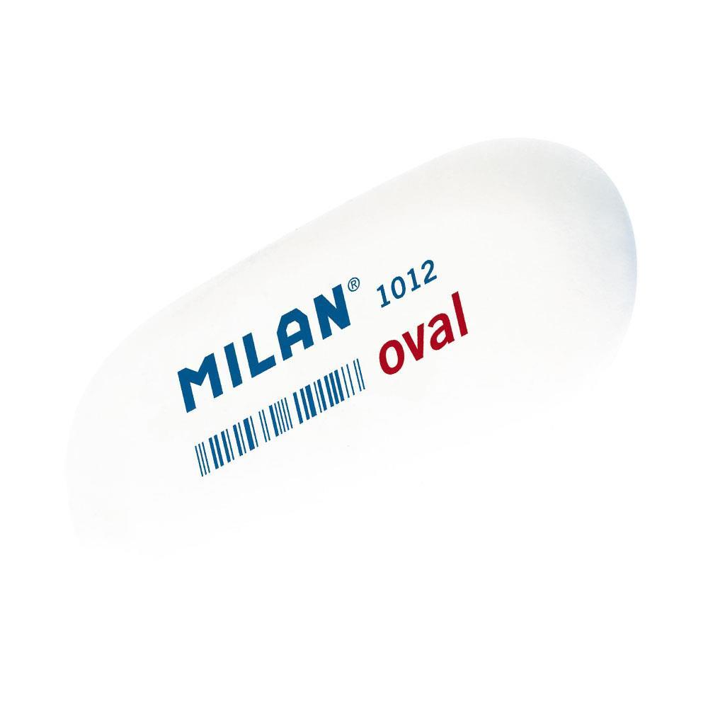 Γόμα Milan λευκή 1012 oval