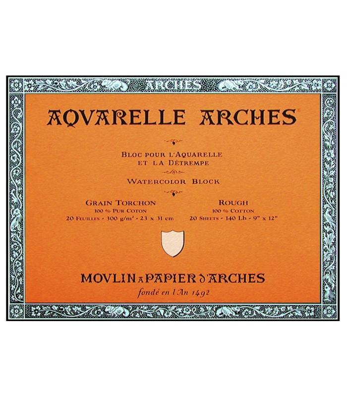 Μπλοκ Arches rough grain 18x26 cm 300 gr 20 φύλλα