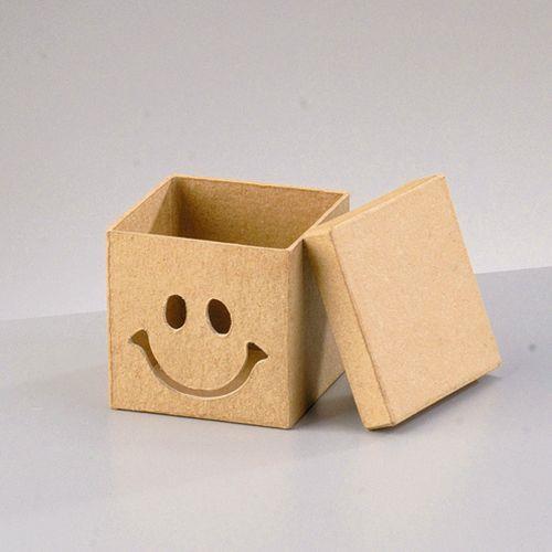 Κουτί χάρτινο Efco Smile 11x11x10,5 cm