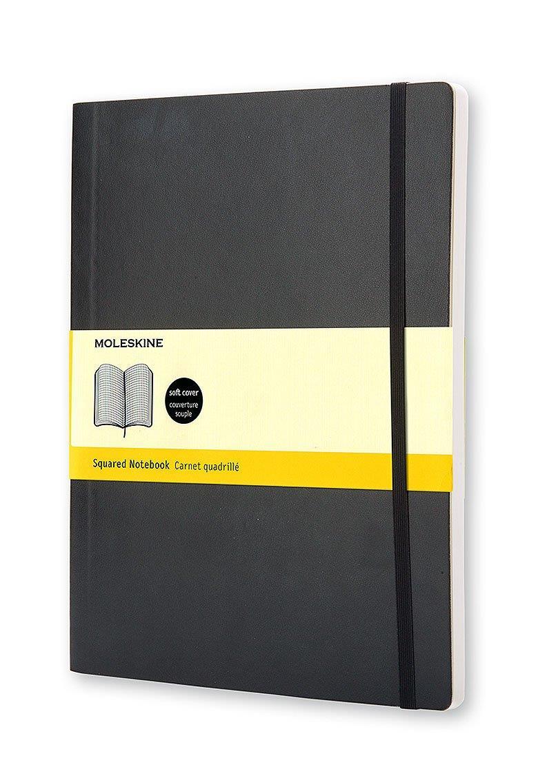 Σημειωματάριο Moleskine XLarge black squared
