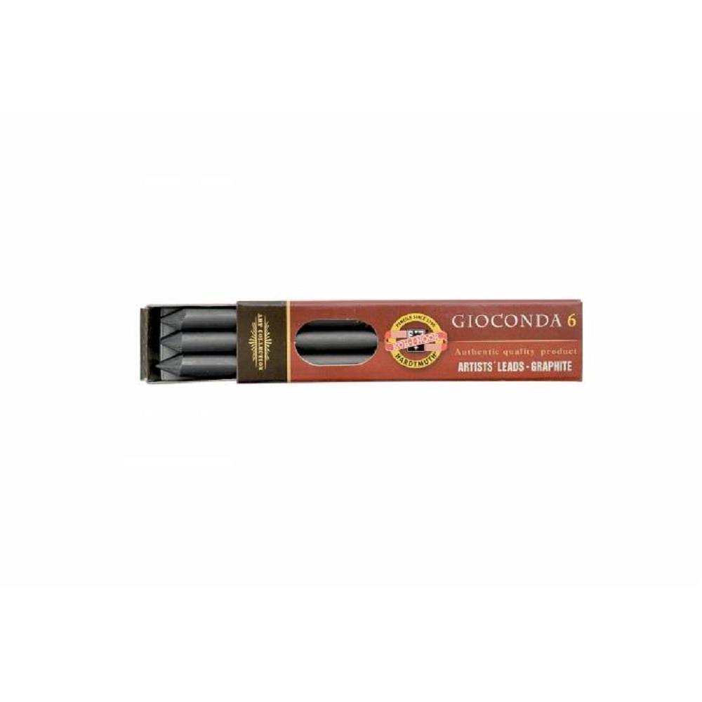 Μύτες μολυβιού 5,6 mm Kohinoor 8cm 2Β 6 τεμ.