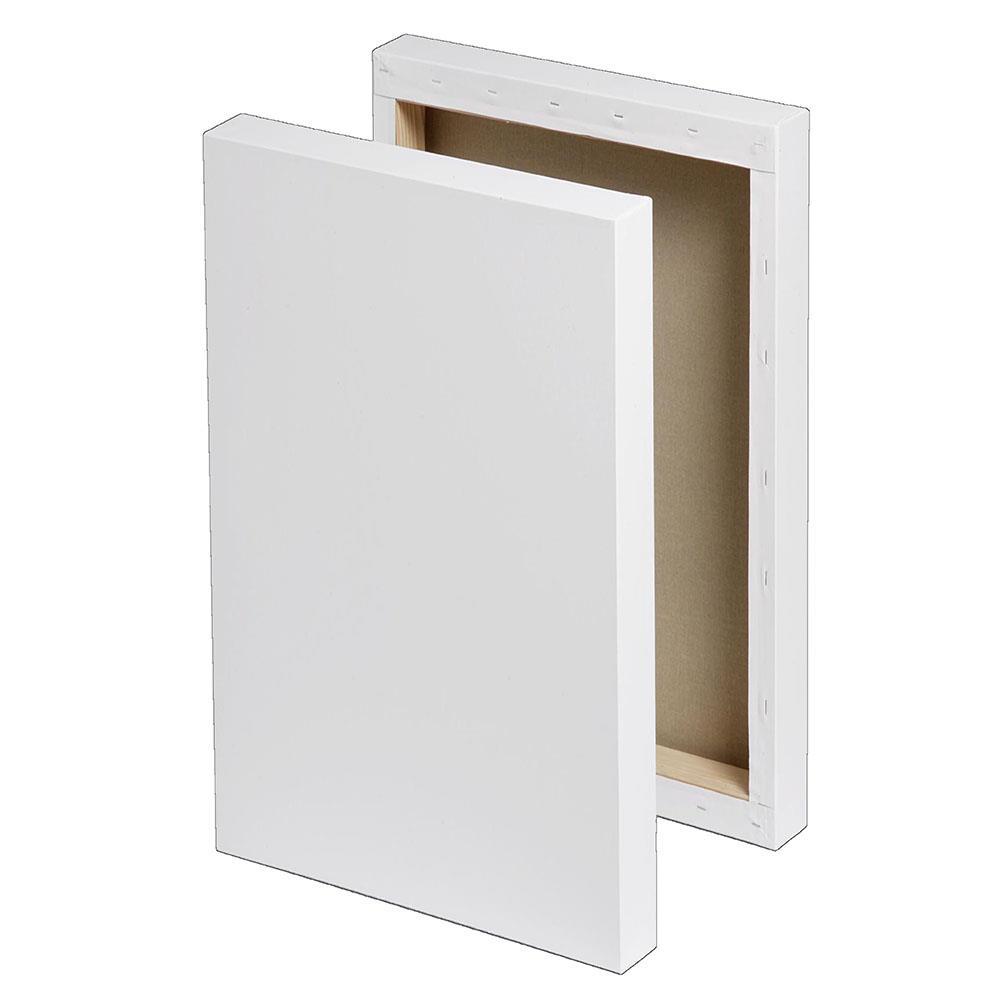 Τελάρο χονδρό box 40x50 cm με βαμβακερό καμβά