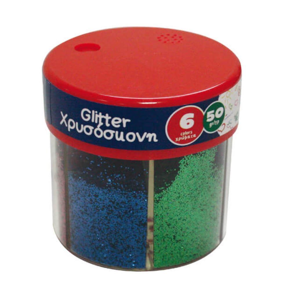 Χρυσόσκονη The littlies αλατιέρα 6 χρώματα x 50gr