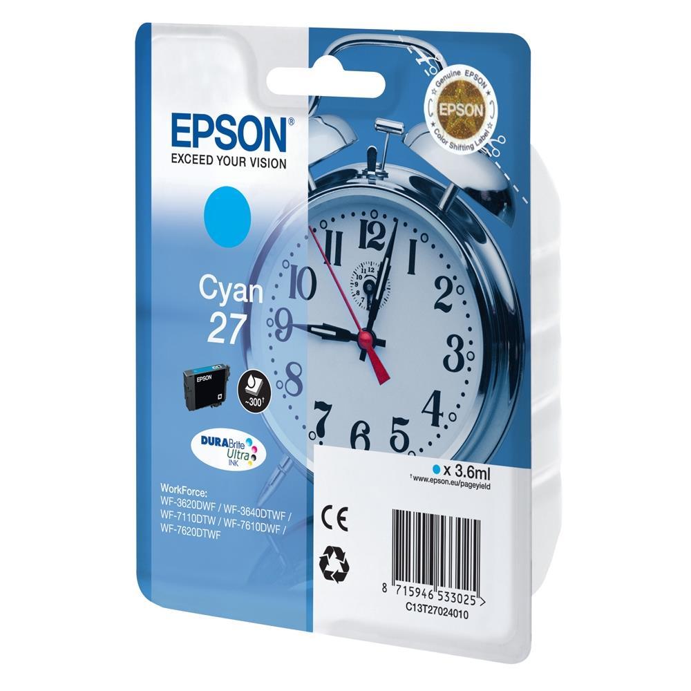 Μελάνι Epson 27 cyan