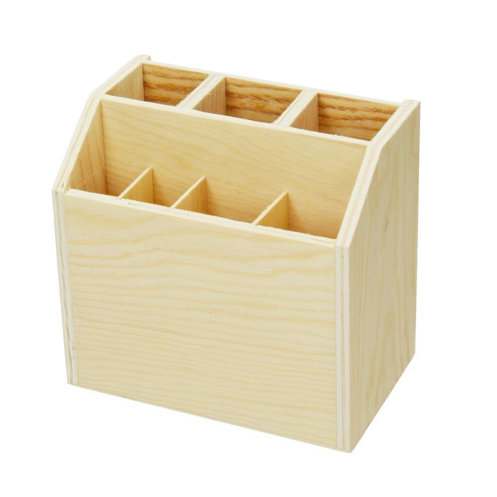 Μολυβοθήκη-πινελοθήκη ξύλινη Efco