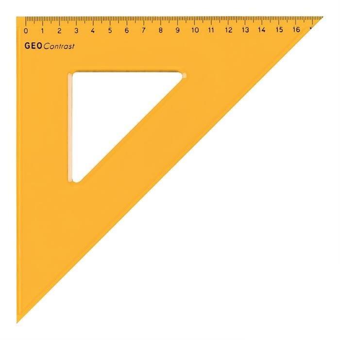 Τρίγωνο Aristo 22436 36cm πορτοκαλί