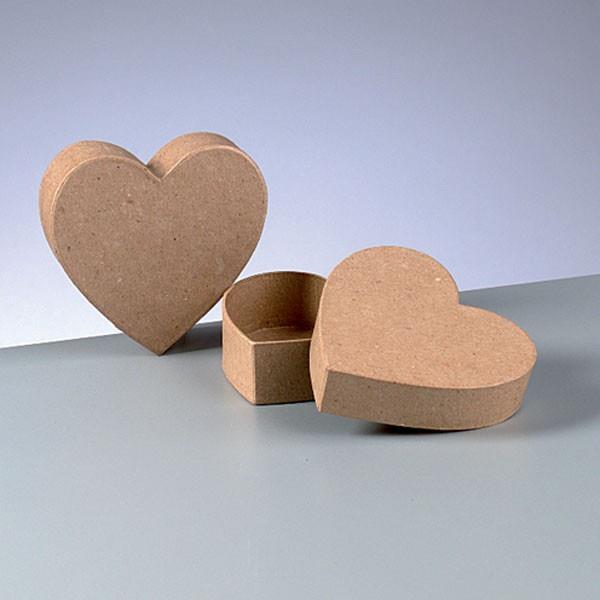 Κουτί χάρτινο Efco καρδιά 9x9x4 cm