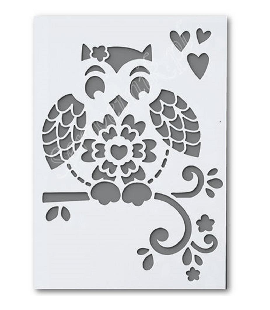 Στένσιλ Efco Α5 owl