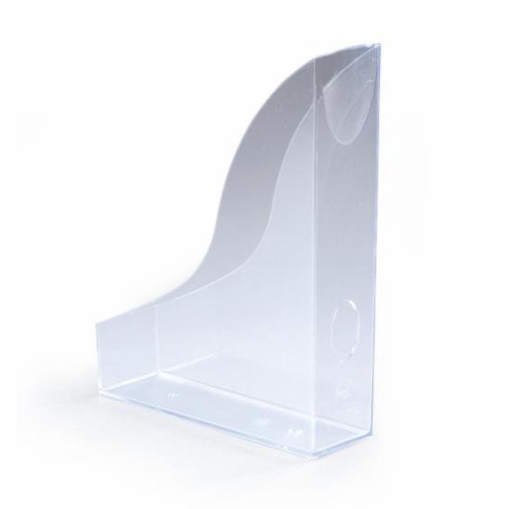 Θήκη περιοδικών Durable πλαστική διάφανη clear