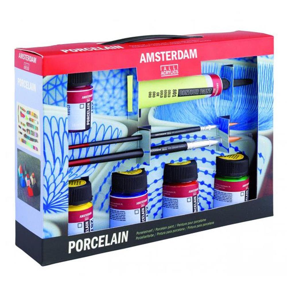 Σετ Amsterdam Porcelain 6x16ml Talens πορσελάνη