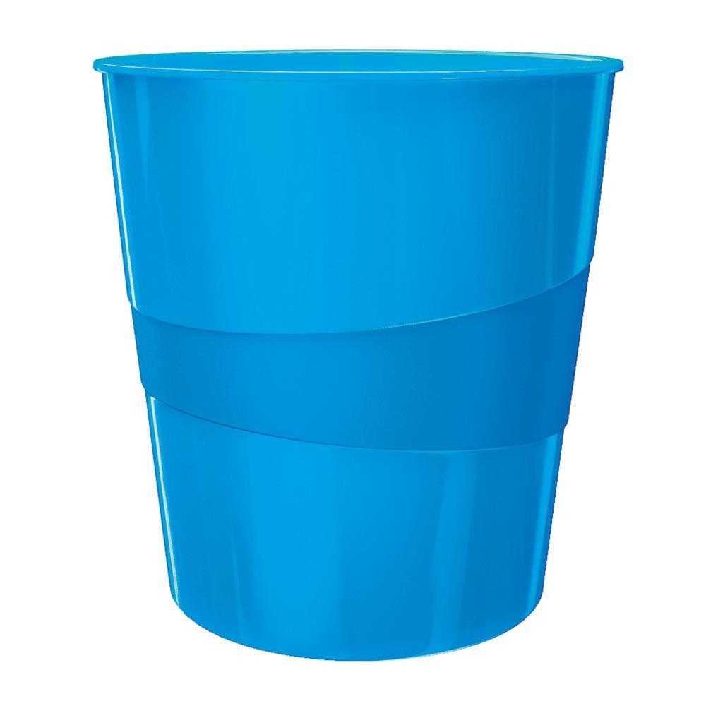 Καλάθι αχρήστων πλαστικό Leitz 5278 15L μπλε