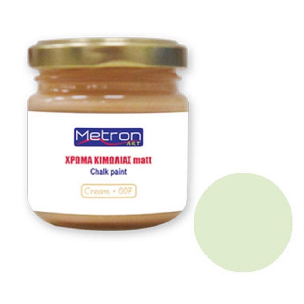 Χρώμα κιμωλίας Metron 110 ml green olive