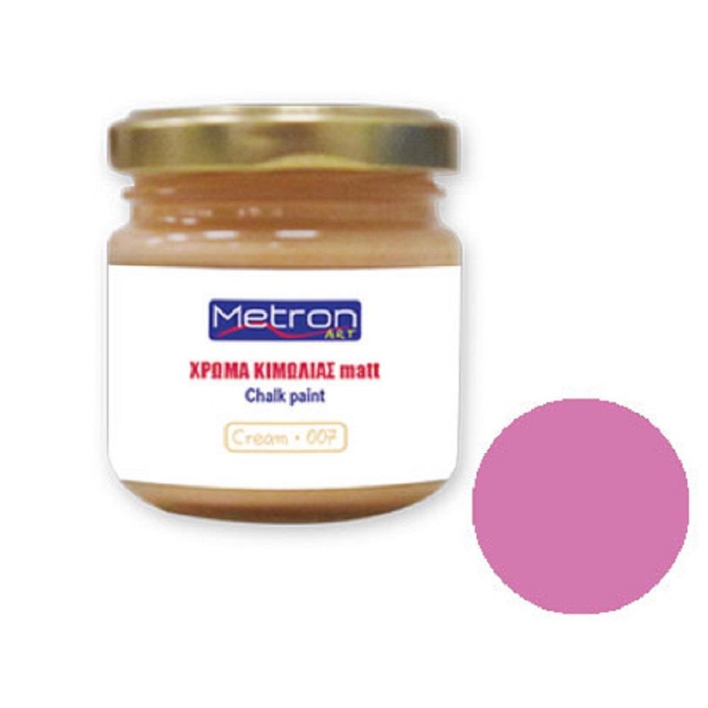 Χρώμα κιμωλίας Metron 110 ml baby pink