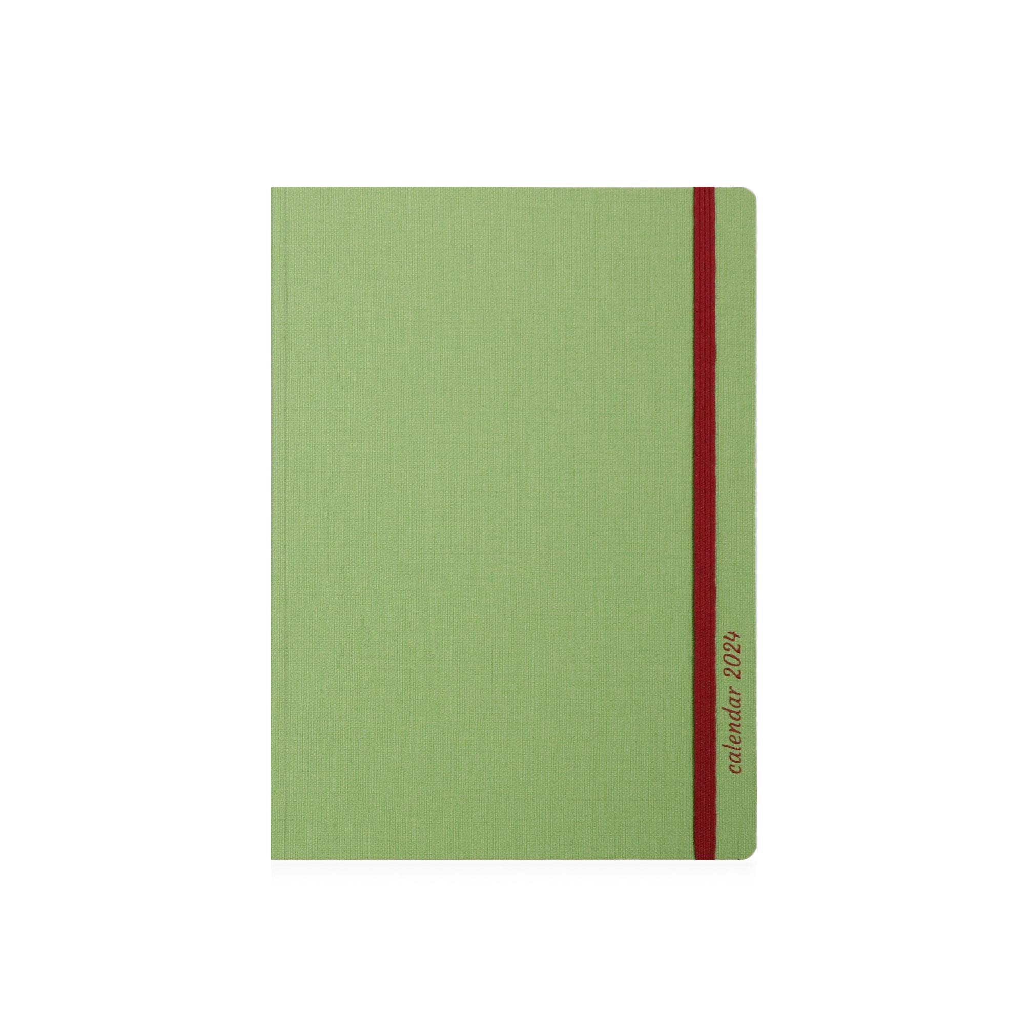 Ημερολόγιο 2022 14x21 Ekdosis No mad πράσινο