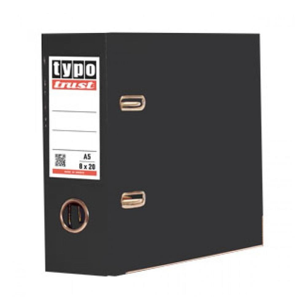 Κλασέρ Typo 8/20 PP μαύρο