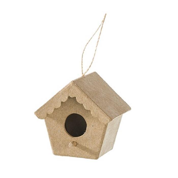 Σπίτι πουλιού χάρτινο Efco 9,5x7x9 cm