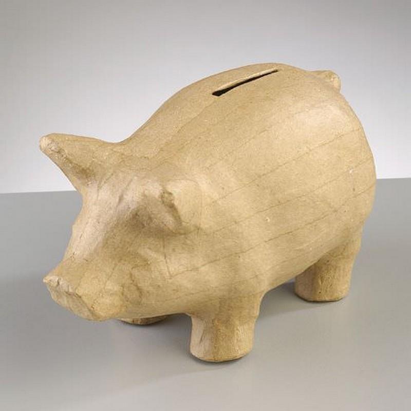 Γουρούνι χάρτινο κουμπαράς Efco