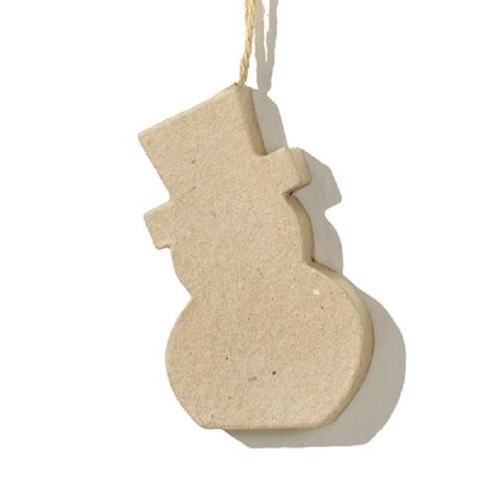 Χιονάνθρωπος χάρτινος κρεμαστός Efco