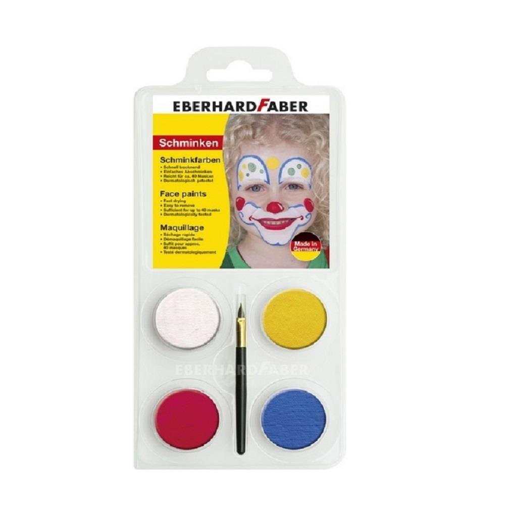 Χρώματα Face Painting Eberhard 579010 4 παστίλιες