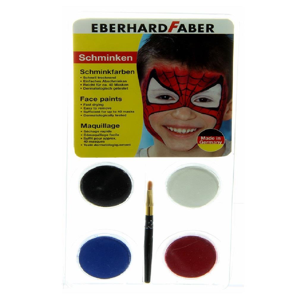 Χρώματα Face Painting Eberhard 579015 4 παστίλιες