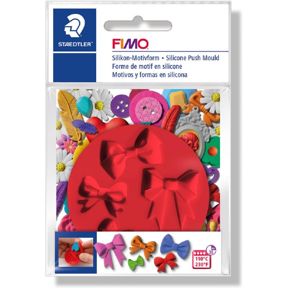 Καλούπι σιλικόνης πηλού Fimo 872524 bows