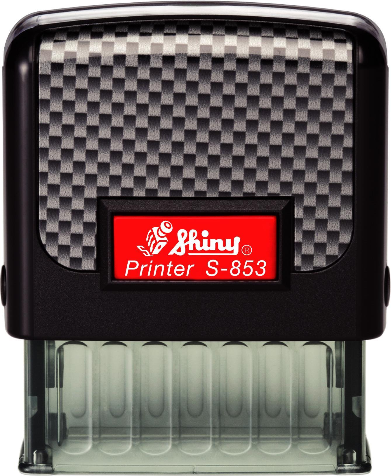 Σφραγίδα αυτόματη Shiny S-853