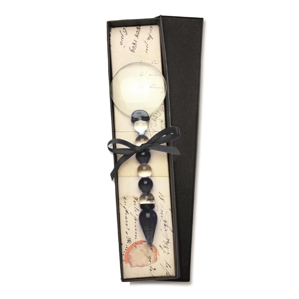 Μεγεθυντικός φακός γυάλινος Νο5 Rubinato μαύρο