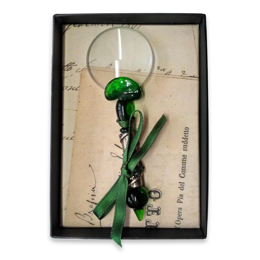 Μεγεθυντικός φακός γυάλινος Νο3 Rubinato πράσινο