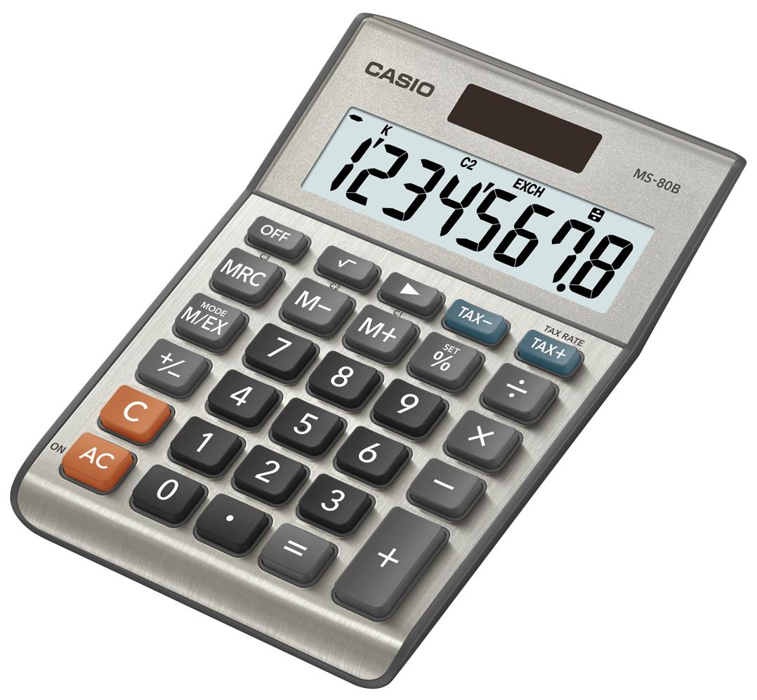 Αριθμομηχανή Casio MS-80B