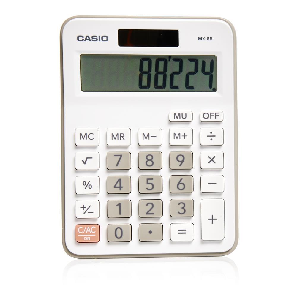 Αριθμομηχανή Casio MX-8B-we