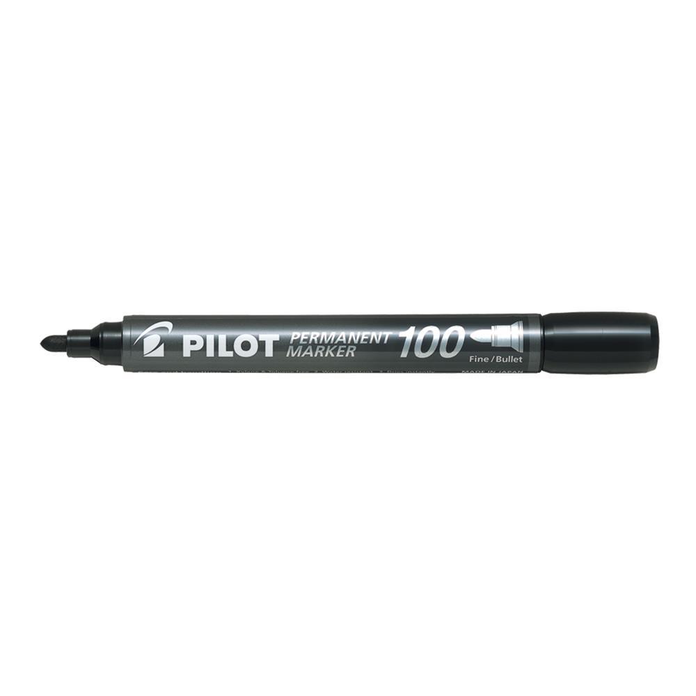 Μαρκαδόρος ανεξίτηλος Pilot SCA-100 μαύρος στρογ.