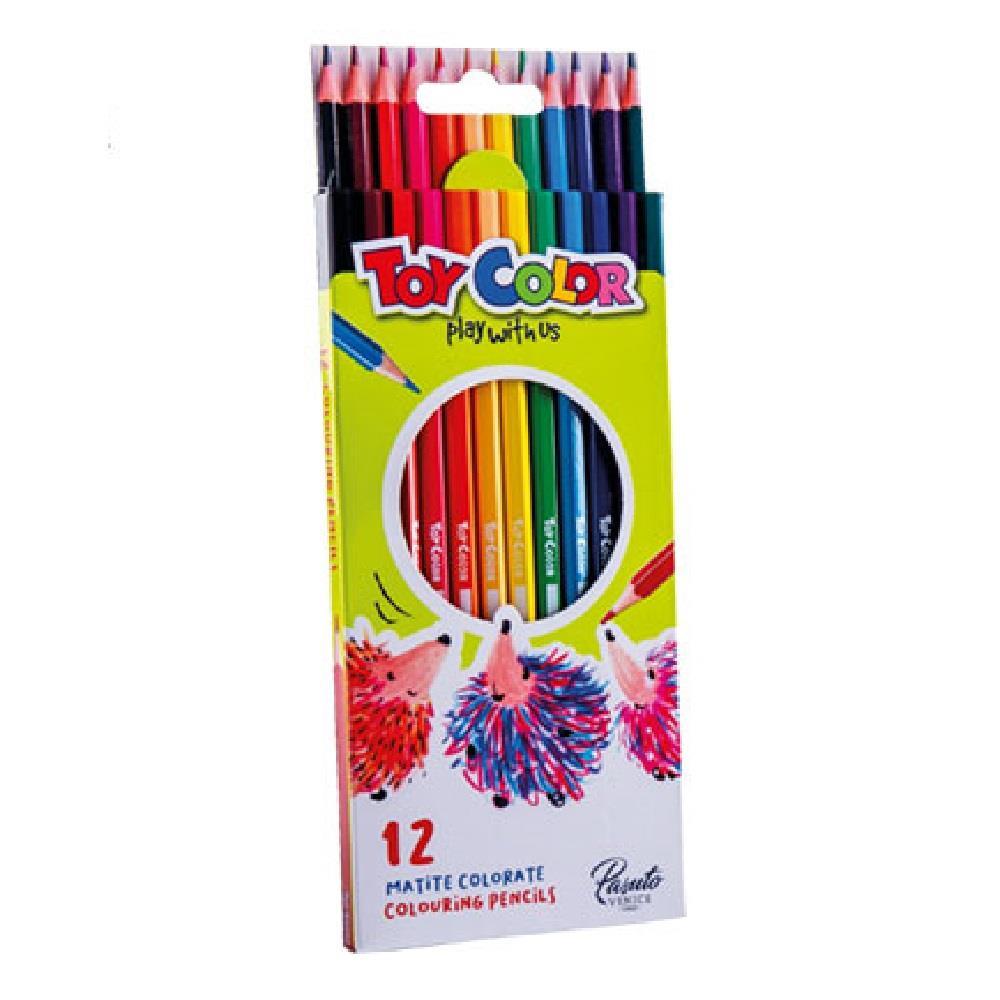 Ξυλομπογιές Toy Color 12 τεμ