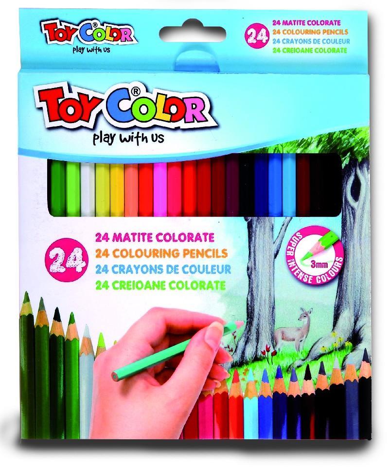 Ξυλομπογιές Toy Color 24 τεμ
