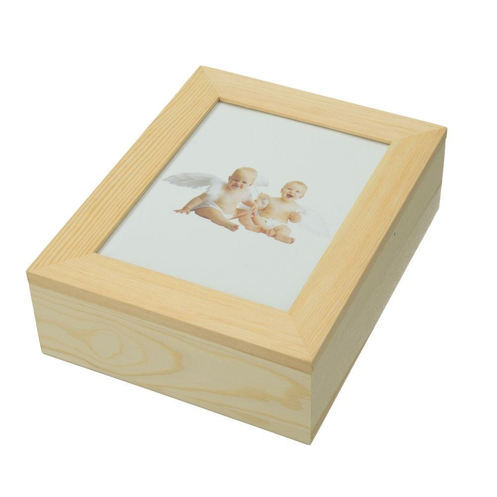 Κουτί ξύλινο Efco 19x15,5 x6 cm κορνίζα