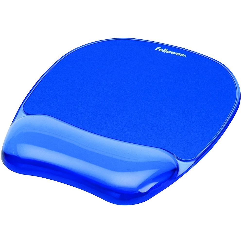 Mousepad Fellowes wrist support blue crystal 9114120