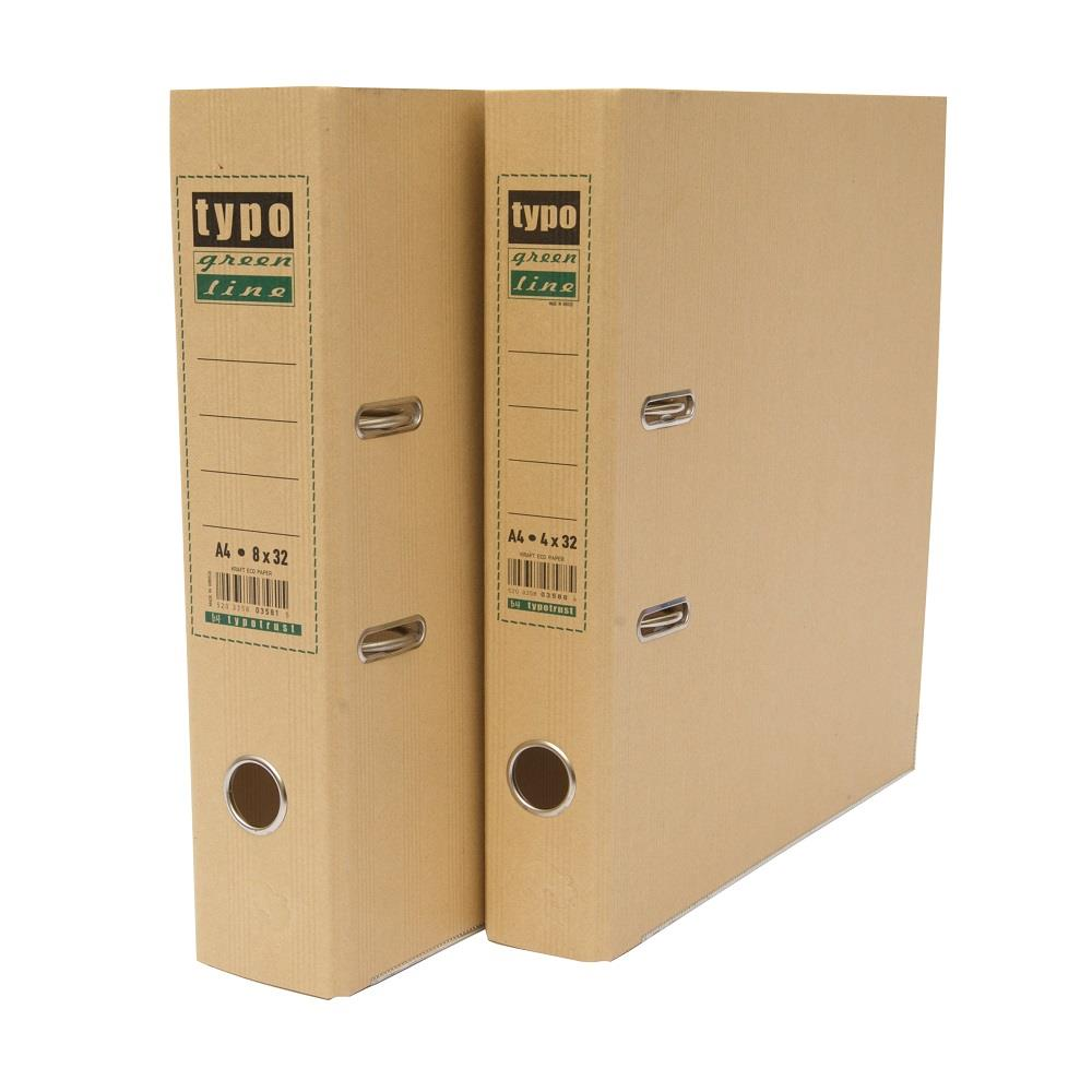 Κλασέρ Typo 4/32 οικολογικό kraft eco green line μπεζ