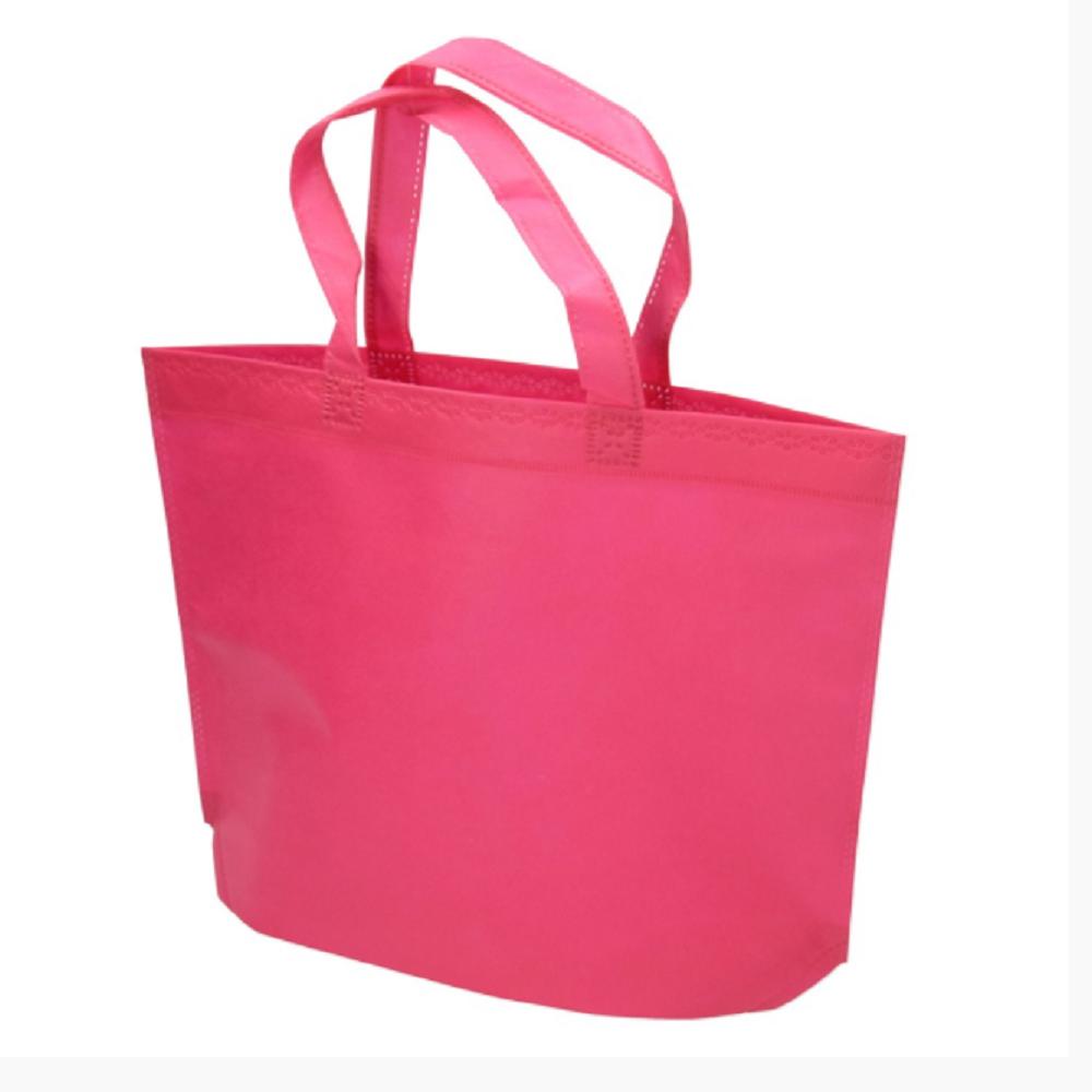 Τσάντα πάνινη με βάση φούξια