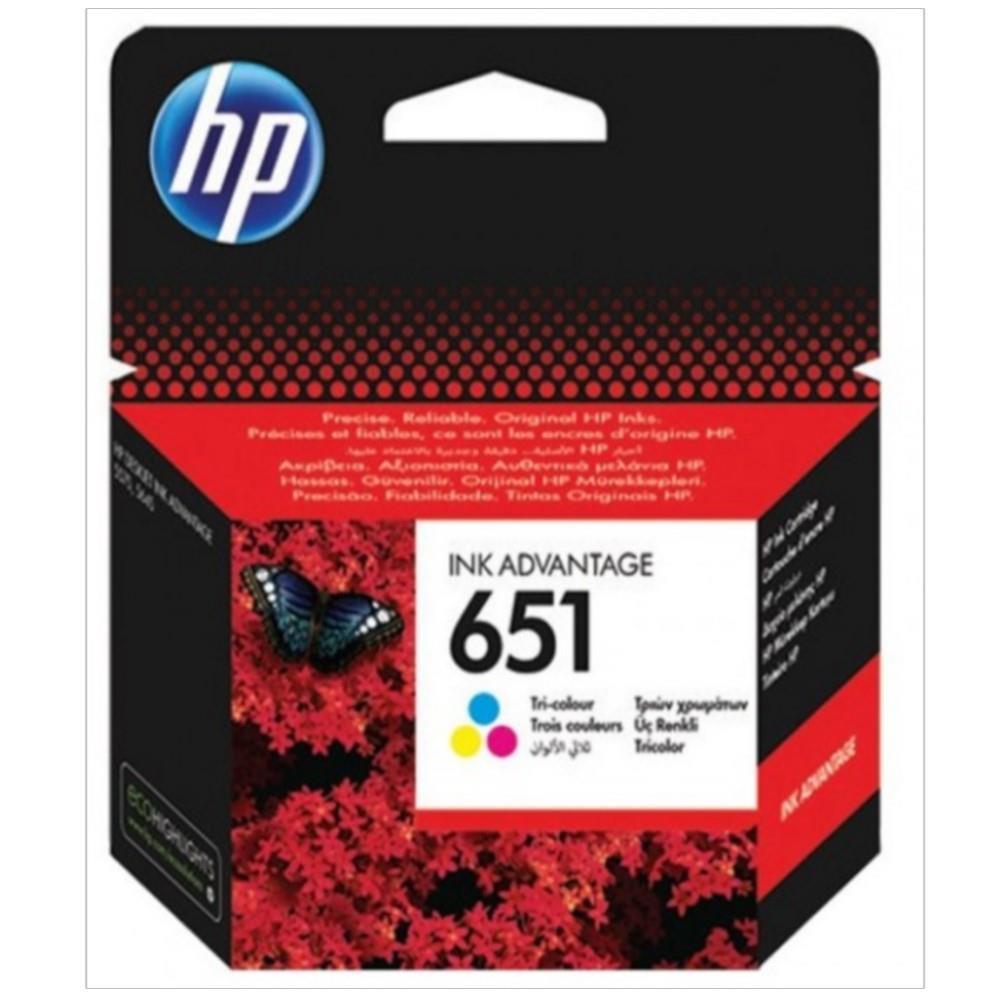 Μελάνι Hp 651 colour