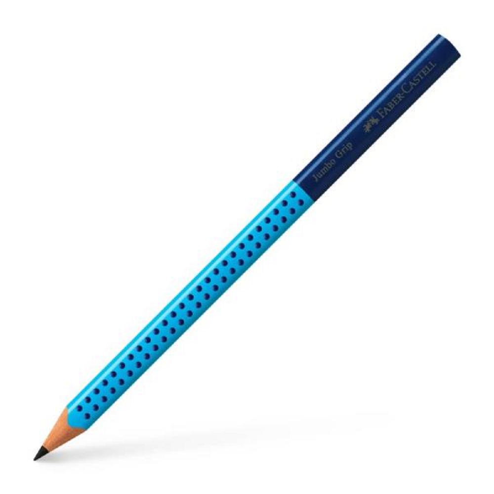 Μολύβι Faber grip jumbo τριγωνικό μπλε