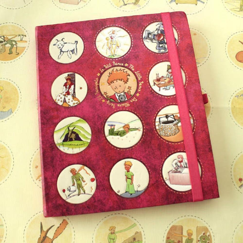 Σημειωματάριο μικρός πρίγκιπας 17x20,5 κόκκινο