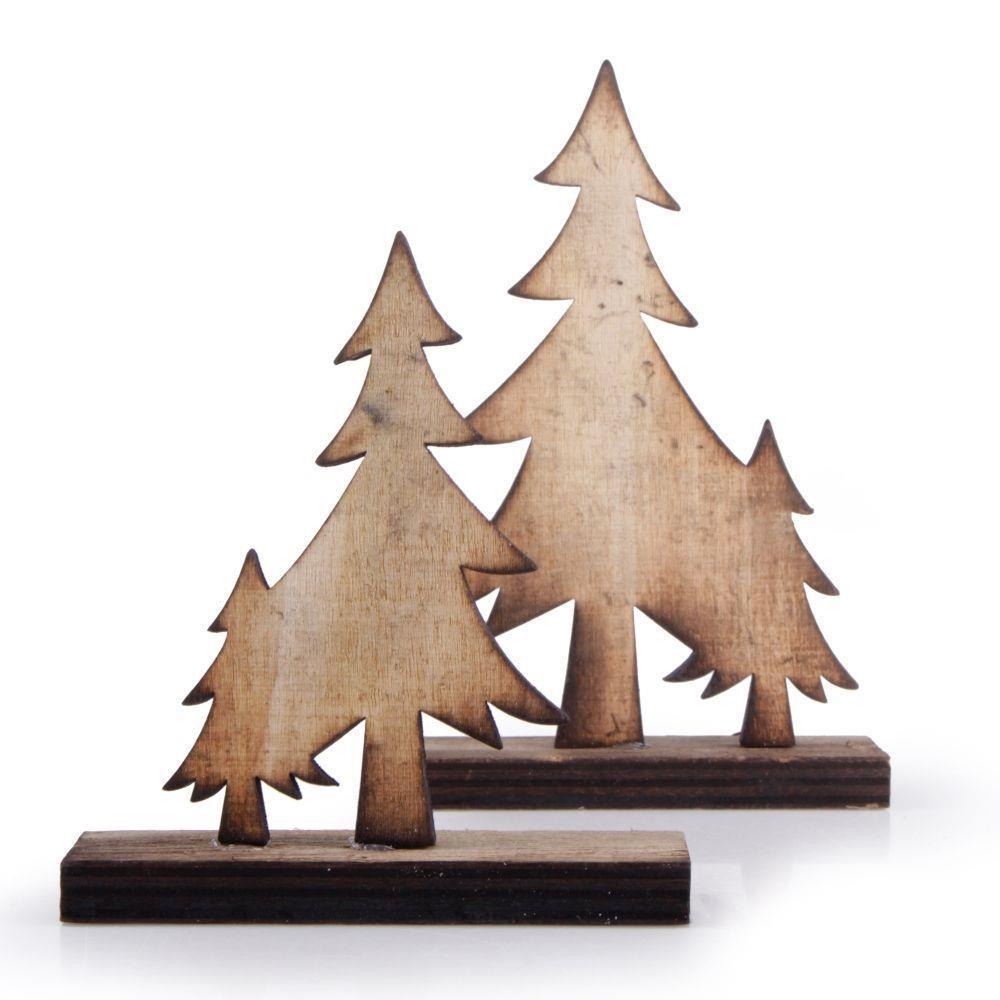 Δεντράκια ξύλινα Efco 11x9/13x9cm