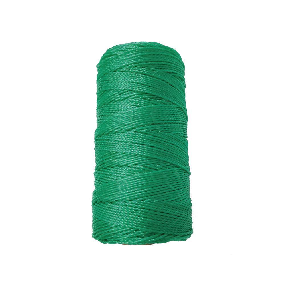 Σπάγγος χρωματιστός 1mmx20m πράσινος