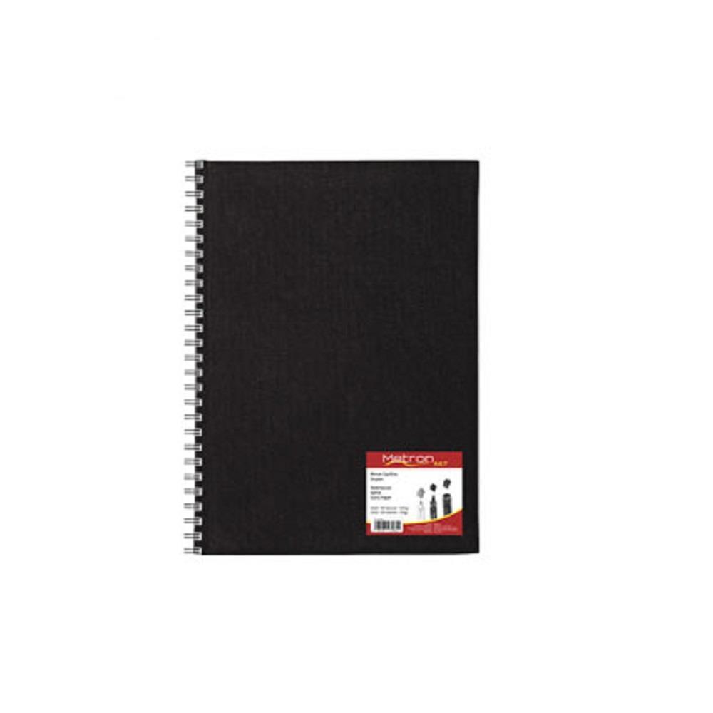 Σημειωματάριο 14x21cm Metron 80φ σπιράλ sketchbook