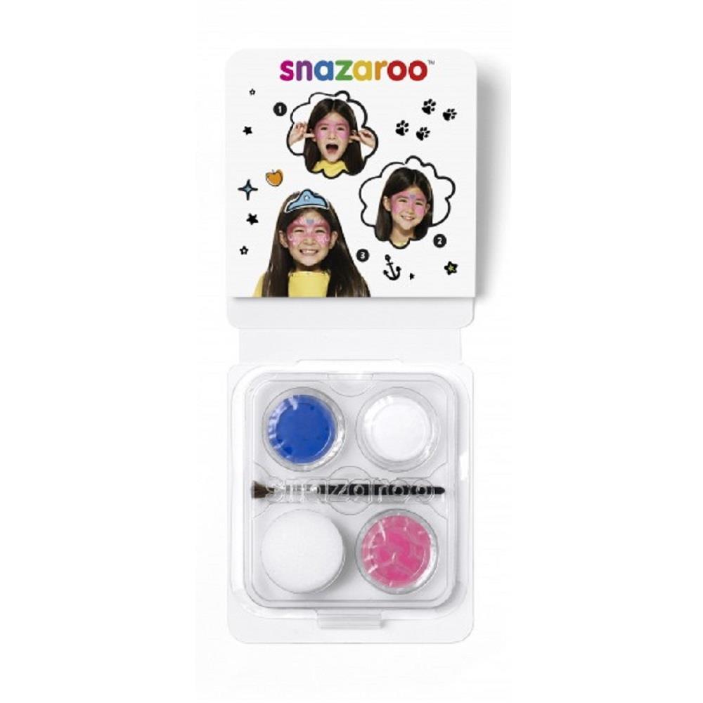 Χρώματα Face Painting Snazaroo 3 παστίλιες μάσκα