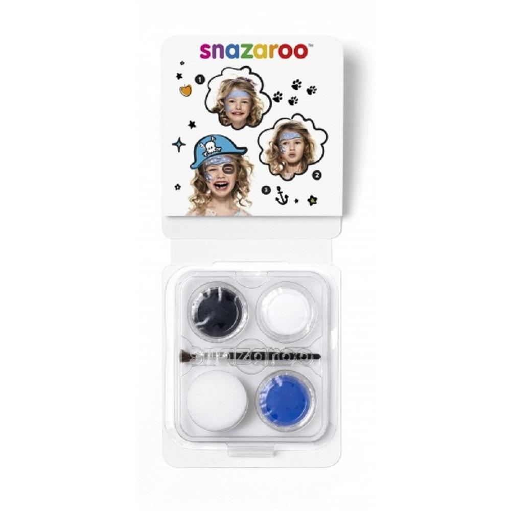 Χρώματα Face Painting Snazaroo 3 παστίλιες πειρατής