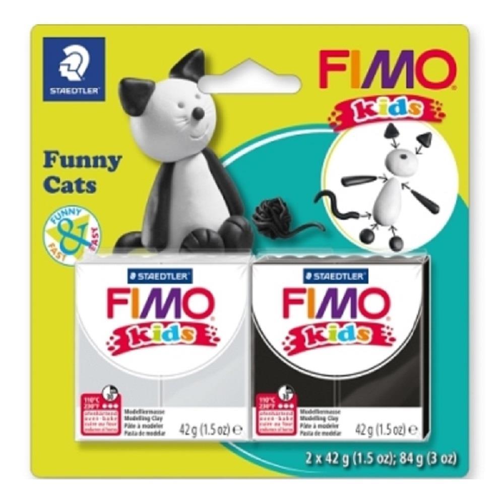 Σετ Fimo kids funny cats 8035 10