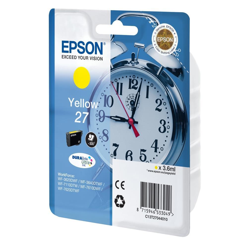 Μελάνι Epson 27 yellow